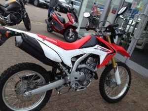 CRF250L at Chiswick